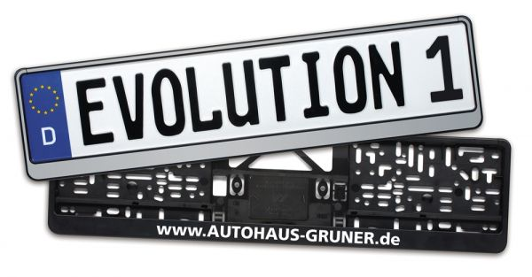 Evolution 1 Schwarz