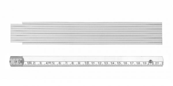 2m Zollstock 250 mit Anfangsgliederdruck (1-farbig)